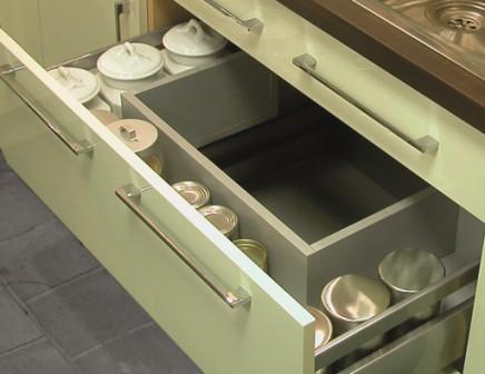 Sink pan drawer unit precision kitchens for 800 kitchen drawer unit