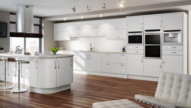 Modern contemporary kitchen design installation in for Contemporary kitchens uk