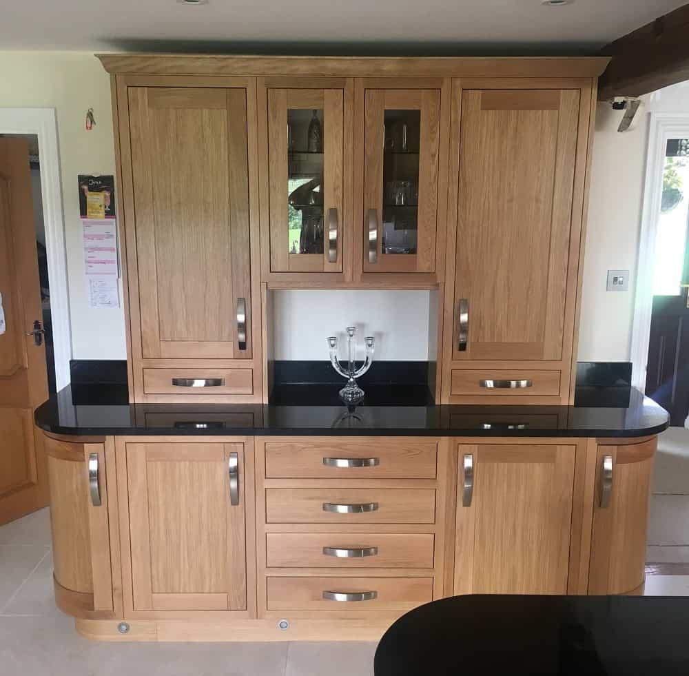 Kitchen Cabinets Edmonton: Edmonton In-Frame White Oak Kitchen (design & Supply